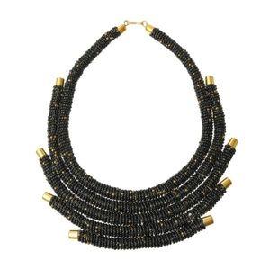 Jewelry - Black Zulu Maasai Necklace